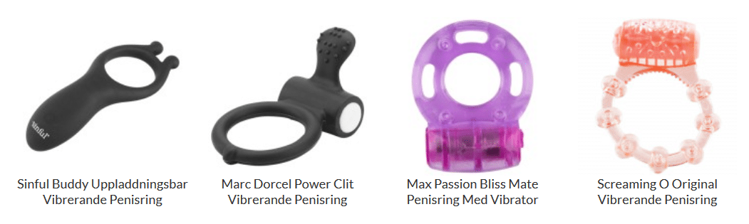Penisring med Vibrator sinful
