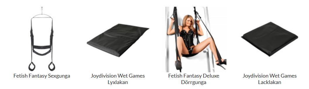 Sinful sexmöbler