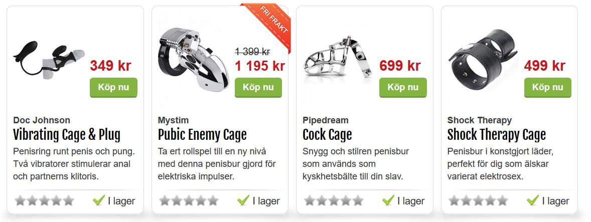 cock cage till män joyland