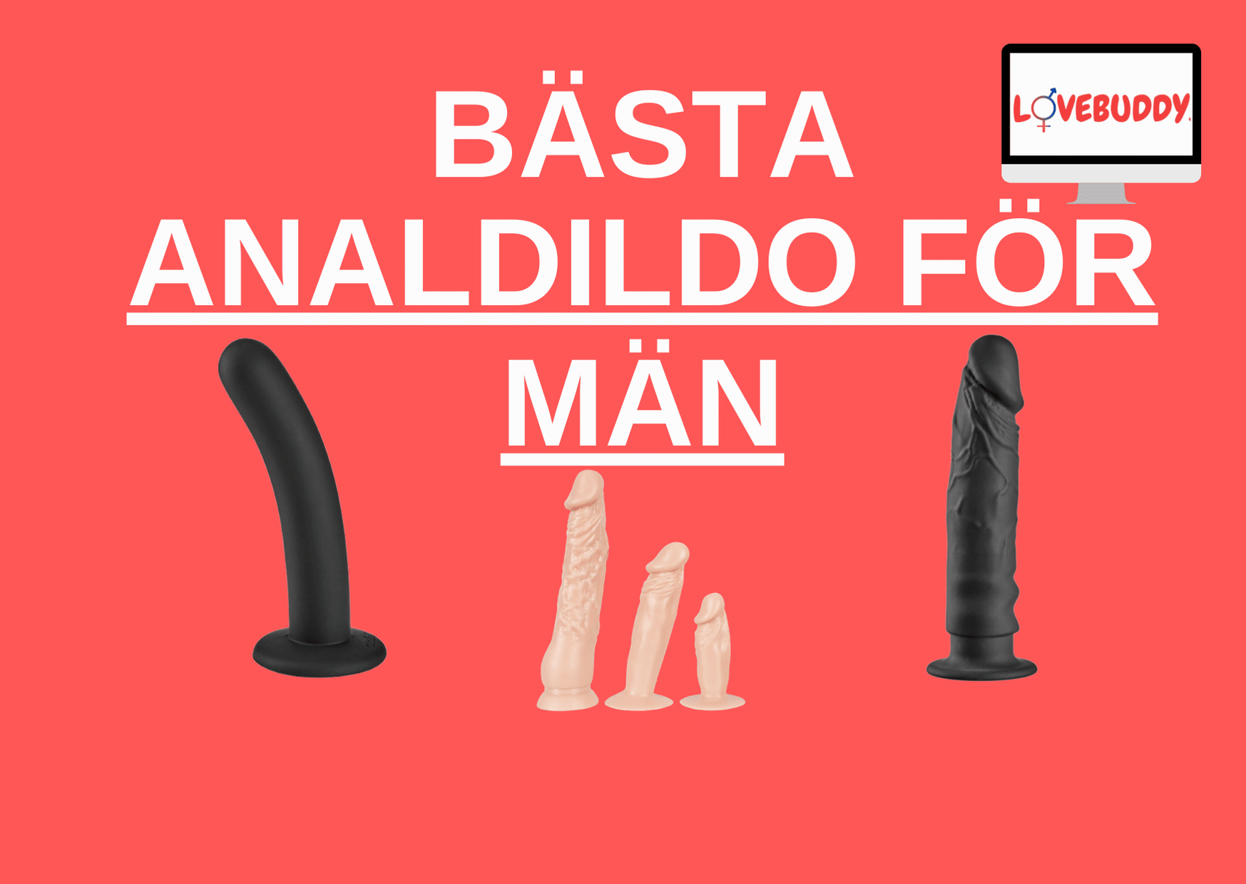 bästa analdildo för män