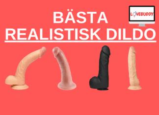 bästa realistisk dildo