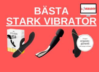 bästa stark vibrator