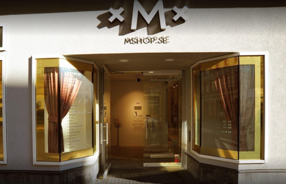 mshop sexbutik göteborg