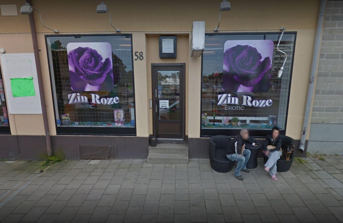 zin rose norrköping sexbutik