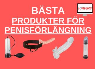 bästa produkter för Penisförlängning