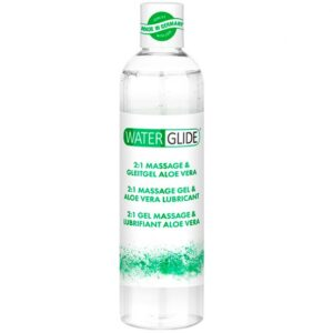 Waterglide Aloe Vera 2-i-1 Massageolja och Glidmedel 300 ml
