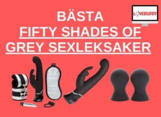 BÄSTa Fifty Shades of Grey Sexleksaker