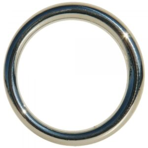 EDGE SEAMLESS METAL RING 4,5 CM