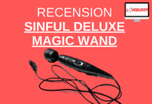 recension av sinful deluxe magic wand kraftig vibrator