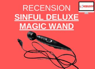 recension av sinful deluxe magic wand kraftig vibrator
