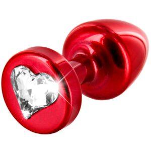 diogol anni heart t1 cristal butt plug