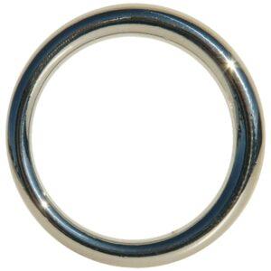 edge seamless metal ring 3 8 cm