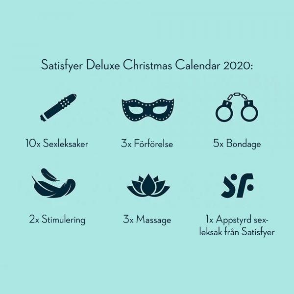 SATISFYER DELUXE JULKALENDER 2020