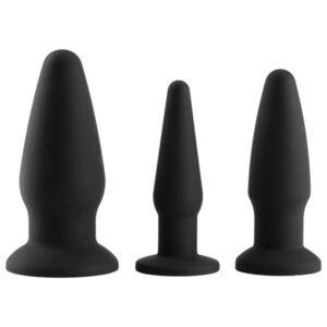sinful anal training sæt silikone