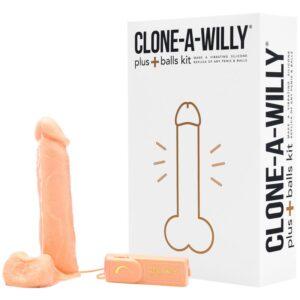 clone a willy plus balls klon din penis