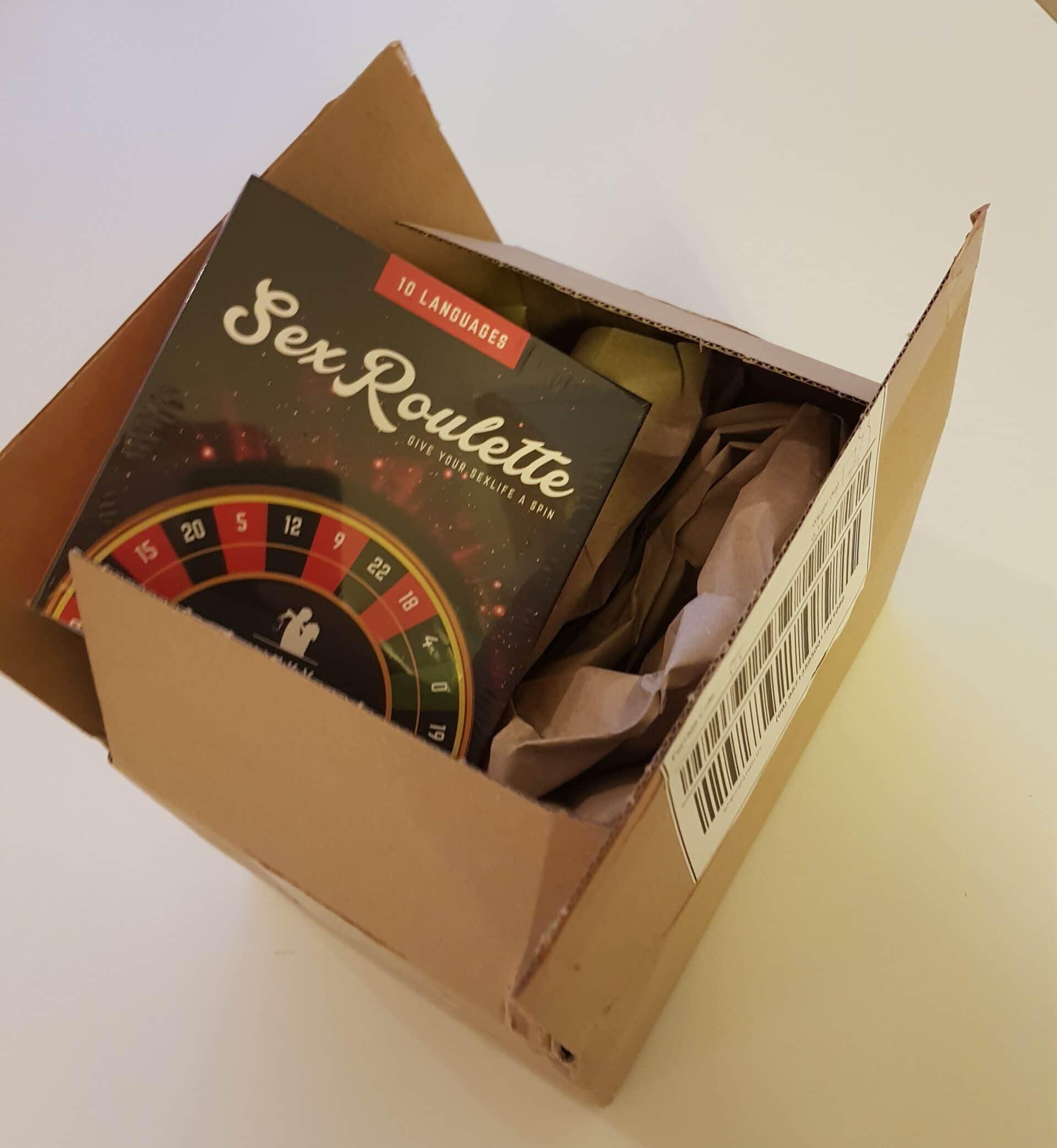 Tease & Please Kinky sex roulette spel till par