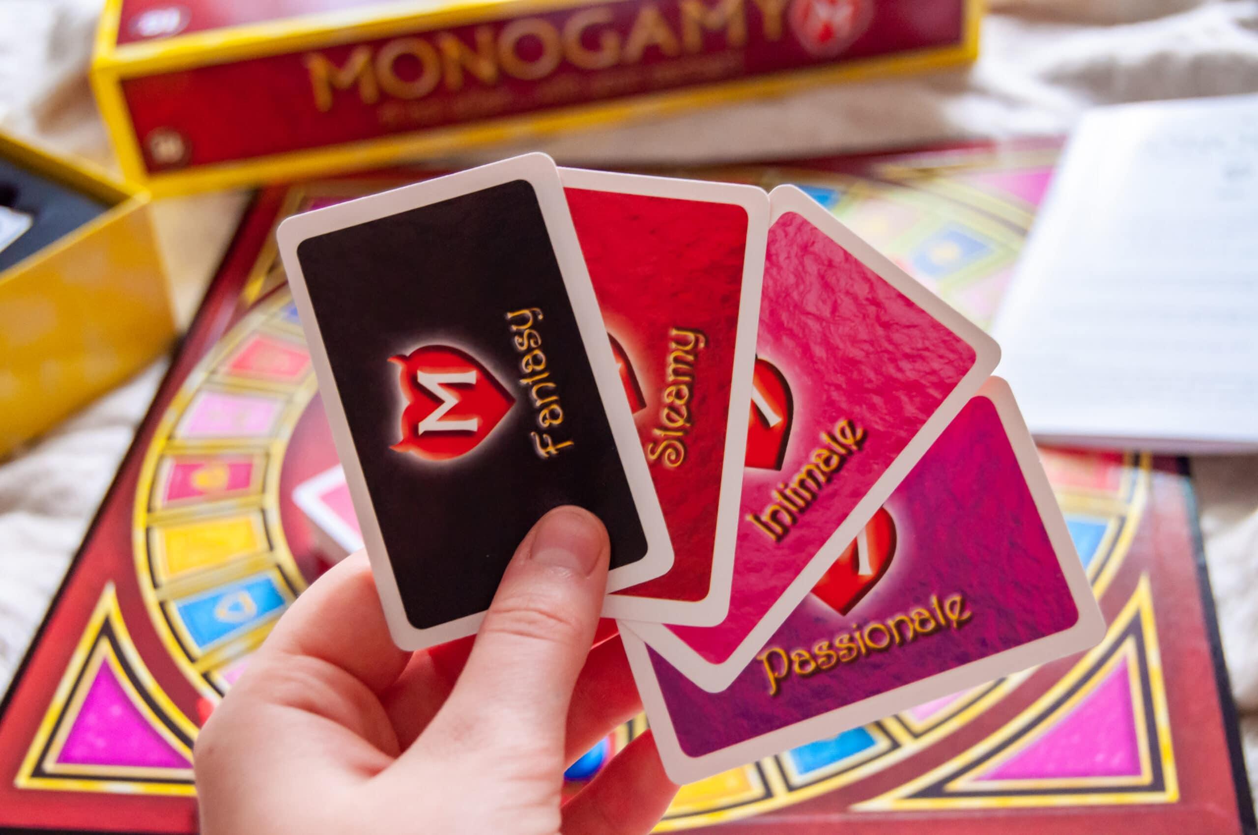 Monogamy erotiskt brädspel