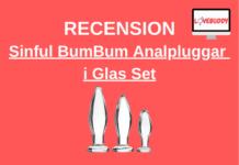 Sinful BumBum Analpluggar i Glas